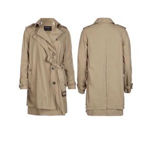 like new All Saints Hanover trench coat